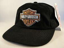 Harley Davidson Vintage Strapback Hat Cap American Needle Black