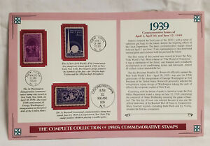 Vintage 1939 Cooperstown 3 Stamp Commemorative Issue