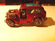 HOT WHEELS 1970 RED LINE COCKNEY CAB 1970 HONG KONG