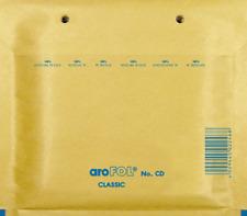 AROFOL LOTE 100 SOBRES CD ACOLCHADOS BURBUJA MARRON CD (175X165) mm INTERIOR