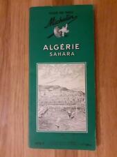 Guide Michelin Algérie Sahara 1e et unique édition de 1956 en parfait état