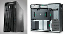 HP  Z820 , 128GB RAM, 12 TB HDD, 500GB SSD, N/QUADRO 6000 GPU, LIQUID COOLING