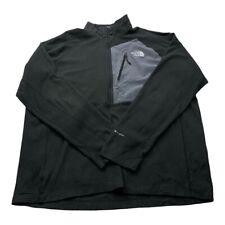 "The North Face Mens Fleece TNF Black Size XXL Winter Outdoor Jacket P2P 26.5"""