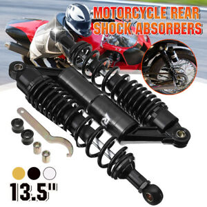 13.5'' 340mm Motorcycle Rear Shock Absorber Air Suspension For Honda for Yamaha