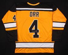 New Bobby Orr Signed / Auto Boston Bruins flying goal jersey XL ORR GNR COA 🔥