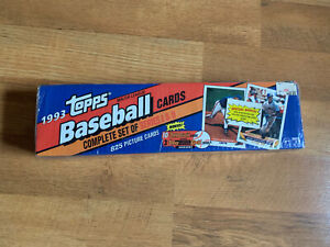 1993 Topps Baseball Series 1 & 2 Complete Set Factory Sealed Unopened Jeter RC