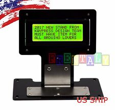 Green Serial IIC/I2C/TWI 2004 20X4 Character LCD LED Display & Stand For Arduino