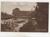 The Old Mill Amersham Buckinghamshire Vintage RP Postcard 511b