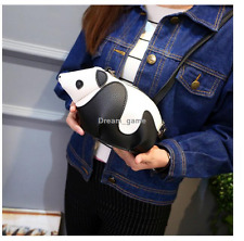 US SHIP! Women Bag New Animal Small Personal Panda Package Messenger Crossbody