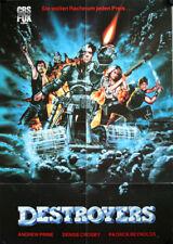 Eliminators Destroyers German video movie poster A1 Andrew Prine, Denise Crosby