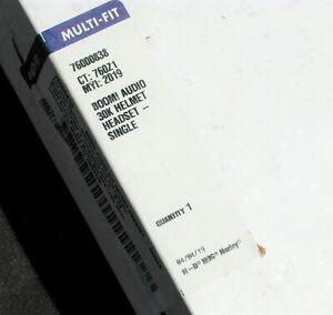 HARLEY DAVIDSON MOTORCYCLE BIKER BOOM AUDIO 30K HELMET HEADSET SINGLE 76000838