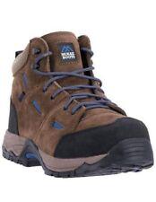 Suede Work Boots - Men's Footwear
