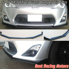 STi tS Style Front Bumper Lip (Urethane) Fits 12-16 Scion FR-S / Toyota 86