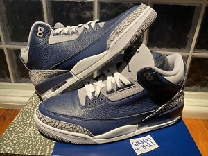 "Nike Air Jordan Retro 3 ""Georgetown"" 2021 CT8532-401 Men's Us size 11"