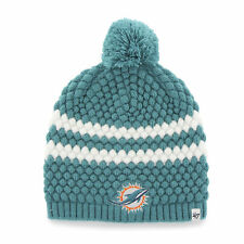 NFL Women's Miami Dolphins Embroidered Cuff Knit Hat by '47 Brand
