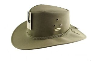 Gardening Eureka Stockade  Macquarie Solid Polysuede Hat Olive Brown Colours