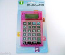 Calculatrice de bureau/de poche SIA rose - Calculator for pocket & desktop, pink