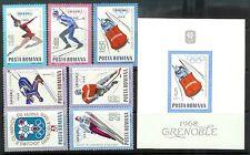 Romania Mint Stamps+Souvenir Sheet Sc#1951-1958 MNH