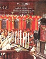 Sotheby's Important Judaica Books Manuscripts & Art Auction Catalog 1989