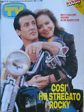 SORRISI 48 1990 Sylvester Stallone Ornella Muti Paul McCartney Clayton Norcross