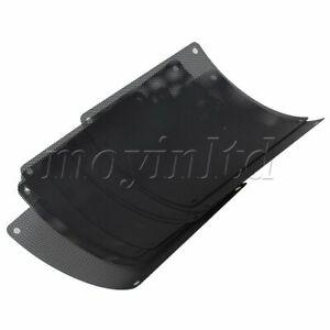 10 x Cuttable Black PVC PC Fan Dust Filter Dustproof Case Computer Mesh 140mm