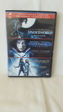 Underworld Trilogy: ( Underworld / Evolution / Rise of the Lycans ) 3 DVD Set
