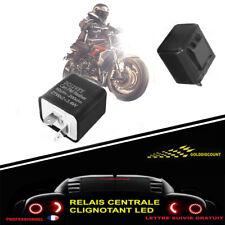 - PROMO - Relais centrale clignotant LED moto  12V réglable anti erreur BR*
