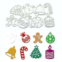 Christmas Snowman Cutting Die Embossing Stencils Scrapbooking DIY Craft Decor