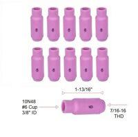 """WP17 WP18 WP26  Ceramic Cup TIG Gas Lens Nozzle 7//16/"""" No.7  11mm x41mm 54N15"""