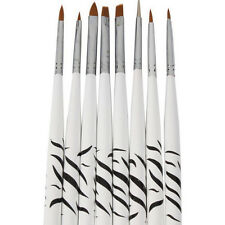 HOT!8PCS Nail Art Design Set Dotting Painting Drawing Polish Brush Pen Tools G