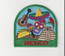 Country of Mexico Souvenir Patch