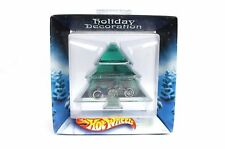 HotWheels Holiday Decoration Diecast Motorcycle Blue & Flames
