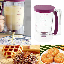 900ML Pancake Batter Dispenser Easy Pour Kitchen Gadgets Kits Container Waffle