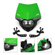 Headlight Headlamp LED Turn Light For Kawasaki KX125 KX250KX250F KLX450R KX450F