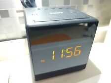 Sony Cube Alarm Clock With Am Fm Radio Tested And Working