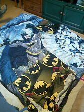 Batman 4 Piece Reversible Super Soft Luxury Twin Size Comforter Set