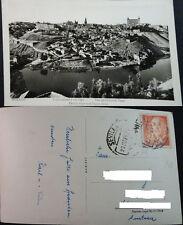 ANTIGUA POSTAL TOLEDO 1958 VISTA RIO TAJO CASTILLA LA MANCHA POSTCARD    CC04093