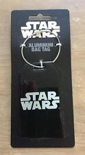 STAR WARS ~ Aluminum Bag Luggage TAG ~ NEW