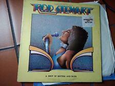 LP  ROD STEWART A SHOT OF RHYTHM AND BLUES PROMO COPY G/FOLD USA EX/EX+