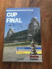 EVERTON V WATFORD 1984 FA CUP FINAL PROGRAMME MINT LOOK FREE POSTAGE