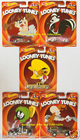 Hot Wheels Real Riders Looney Tunes Car Selection - Real Rubber Tires - Die Cast