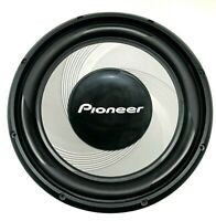 "New Pioneer TS-A120S4E 12"" Single-Voice-Coil 4-Ohm Subwoofer - Black"
