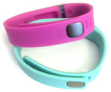 2 Small Combo Pink, Teal FitBit Flex Wristband/Bracelet Only (No Tracker)