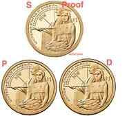 2014 PDS Sacagawea Coin Currency Set Lewis Clark Native American Hospitality TA9