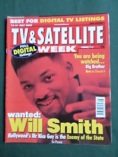 TV & SATELLITE MAG- WILL SMITH - 15-21 JULY 2000