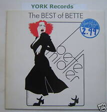 BETTE MIDLER - The Best Of Bette - Ex Con LP Record