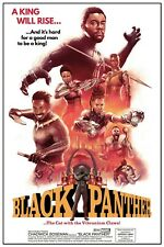 2018 Marvel Black Panther > Chadwick Boseman > Mini Movie Poster Print 🐱👤