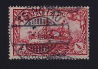 Kiauchau #29 (1901) $1/2 carmine Kaiser's Yacht Used Tsingtau CDS