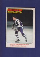 Darryl Sittler Highlights 1978-79 O-PEE-CHEE Hockey #4 (EXMT)