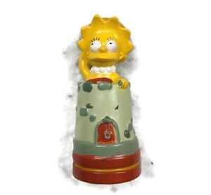 """THE SIMPSONS 3D CHESS SET REPLACEMENT PIECE Lisa THE Red Castle FIGURE 2.5"""""""